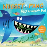 Jacket Image For: Nugget and Fang: Race Around the Reef (board book)