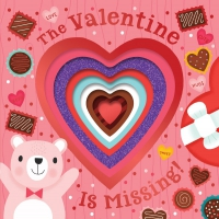 Jacket Image For: The Valentine Is Missing! (board book with cut-out reveals)