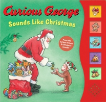 Jacket Image For: Curious George Sounds Like Christmas sound book