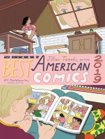Jacket Image For: The Best American Comics 2019