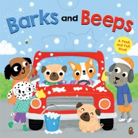 Jacket Image For: Barks and Beeps (novelty board book)