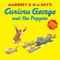 Jacket Image For: Curious George and the Puppies (with bonus stickers and audio)