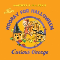 Jacket Image For: Hooray for Halloween, Curious George (with stickers)