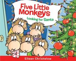 Jacket Image For: Five Little Monkeys Looking for Santa