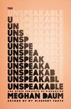 Jacket image for The Unspeakable