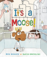 Jacket Image For: It's a Moose!