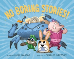 Jacket Image For: No Boring Stories!