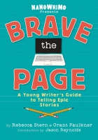 Jacket Image For: Brave the Page