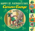 Jacket Image For: Happy St. Patrick's Day, Curious George
