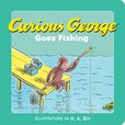 Jacket image for Curious George Goes Fishing