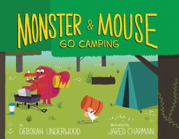 Jacket Image For: Monster and Mouse Go Camping