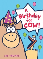 Jacket Image For: A Birthday for Cow!