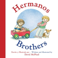 Jacket Image For: Hermanos/Brothers (Bilingual Board Book Spanish Edition)