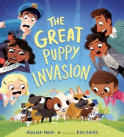 Jacket Image For: The Great Puppy Invasion