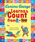 Jacket Image For: Curious George Learns to Count from 1 to 100