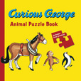 Jacket image for Curious George Animal Puzzle Book