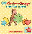 Jacket Image For: Curious Baby Everyday Shapes Puzzle Book: A Puzzle Play Book