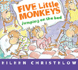 Jacket image for Five Little Monkeys Jumping on the Bed