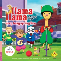 Jacket Image For: Llama Llama Very Busy Springtime