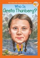 Jacket Image For: Who Is Greta Thunberg?
