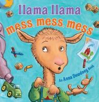 Jacket Image For: Llama Llama Mess Mess Mess