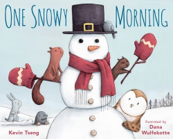 Jacket Image For: One Snowy Morning