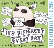 Jacket Image For: It's Different Every Day Page-A-Day Calendar 2018