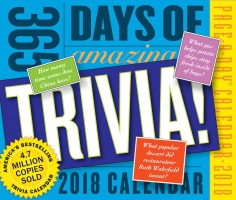Jacket Image For: 365 Days of Amazing Trivia! Page-A-Day Calendar 2018