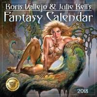 Jacket Image For: Boris Vallejo & Julie Bell's Fantasy Wall Calendar 2018