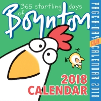 Jacket Image For: 365 Startling Days of Boynton Page-A-Day Calendar 2018