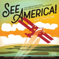 Jacket Image For: See America! Wall Calendar 2018