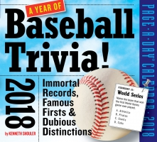 Jacket Image For: A Year of Baseball Trivia! Page-A-Day Calendar 2018