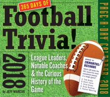 Jacket Image For: A Year of Football Trivia! Page-A-Day Calendar 2018