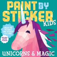 Jacket Image For: Paint by Sticker Kids: Unicorns and Magic