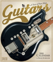 Jacket Image For: Guitars Wall Calendar 2018
