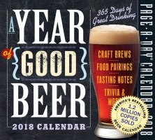Jacket Image For: A Year of Good Beer Page-A-Day Calendar 2018