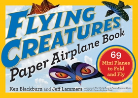 Jacket Image For: Flying Creatures Paper Airplane Book