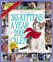 Jacket Image For: The 365 Kittens A Year Picture-A-Day Wall Calendar 2018