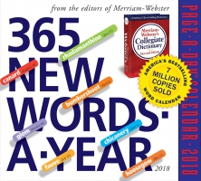 Jacket Image For: 365 New Words-A-Year Page-A-Day Calendar 2018