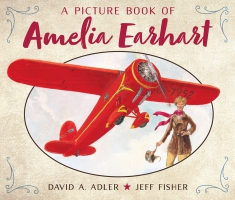 Jacket Image For: A Picture Book of Amelia Earhart
