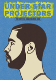 Jacket Image For: Under Star Projectors: The Unofficial Drake Coloring Book