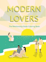 Jacket image for Modern Lovers Colouring Book