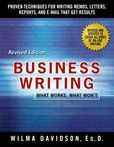 Jacket image for Business Writing