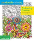 Jacket Image For: Zendoodle Coloring: Enchanting Gardens