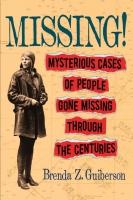 Jacket Image For: Missing!