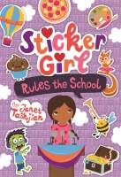 Jacket Image For: Sticker Girl Rules the School