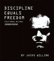 Jacket Image For: Discipline Equals Freedom
