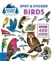 Jacket Image For: Outdoor School: Spot & Sticker Birds