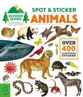 Jacket Image For: Outdoor School: Spot & Sticker Animals