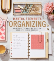 Jacket Image For: Martha Stewart's Organizing